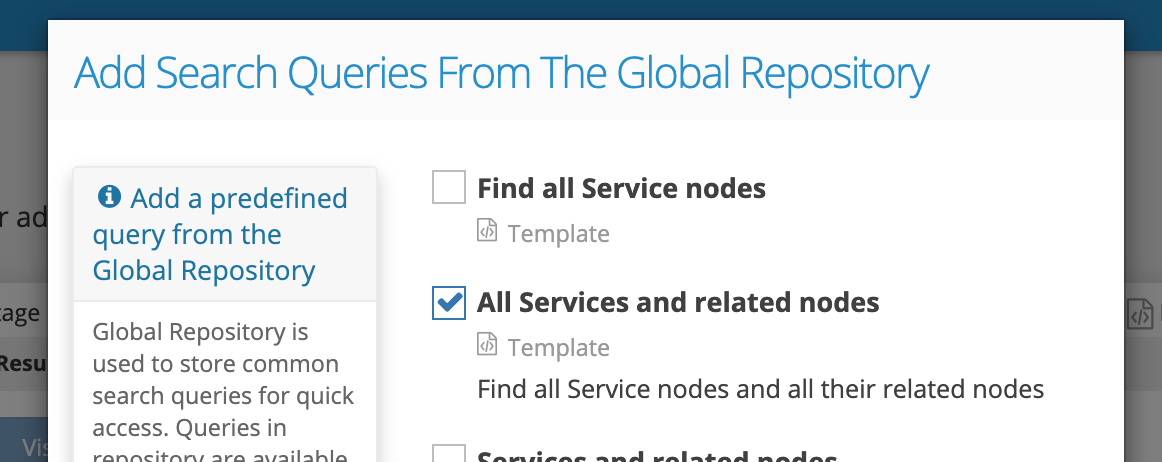 Graphlytic: Query Template Find_all_Service_nodes_and_all_related_nodes